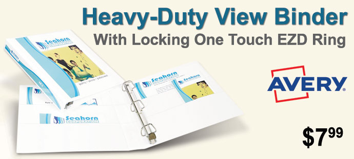 Avery - Heavy-Duty View Binder with One Touch EZD Ring