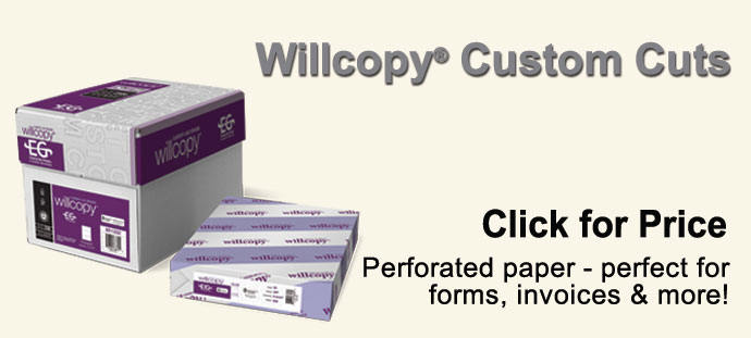Domtar - Willcopy Custom Cut-Sheet Copy Paper