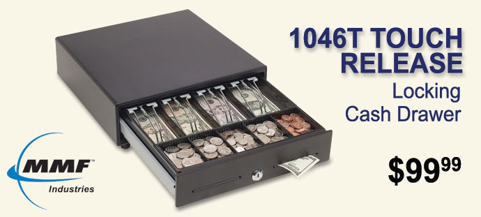 MMF - Steelmaster® Touch Release Locking Cash Drawer
