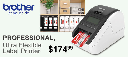 Brother - Professional, Ultra Flexible Label Printer