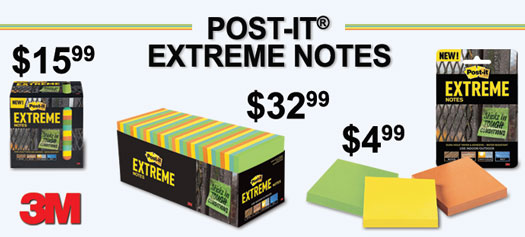 3M - Post-it® Extreme Notes