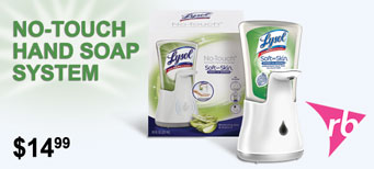RB - Lysol No-Touch Hand Soap System