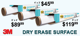 3M - Post-it® Dry Erase Surfaces