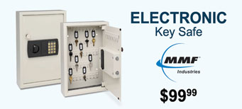 MMF - Steelmaster Electronic Key Safe