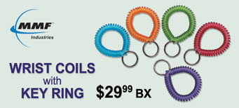 MMF - Wrist Coils with Key Ring