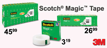3M - Scotch™ Tape Value Packs