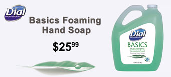 Dial - Basics Foaming Hand Soap, Original, Honeysuckle, 1 gal Bottle