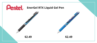 Pentel EnerGel RTX Liquid Gel Pen